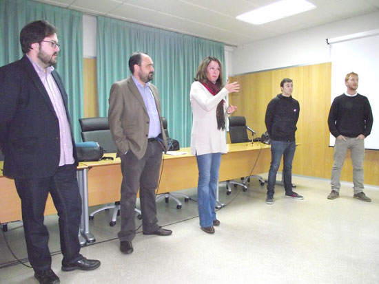Presentación de las becas Talentum.