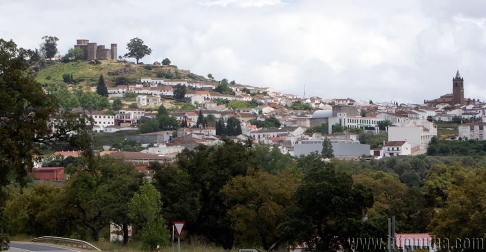 Imagen de la localidad onubense de Cortegana