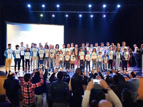 Imagen de alguno de los premiados en la gala.