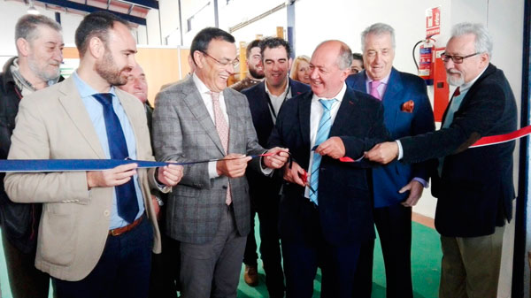 Imagen del acto de inauguración de la VI Feria Gastronómica-Cultural 'Saborea Cumbres Mayores'