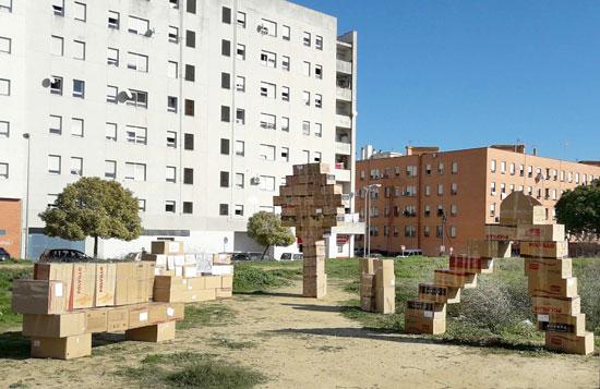 Imagen del parque terminado.