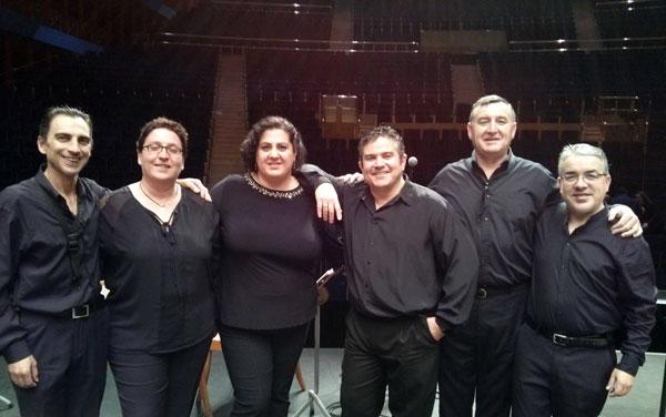 Participantes en el Congreso de Bandas Sinfónicas.