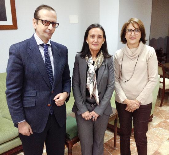 Encuentro de la Subdelegada con representantes del Colegio Oficial de Farmacéuticos.