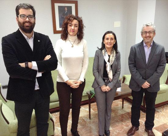 Encuentro de la Subdelegada con representantes del  Colegio Oficial de Peritos e Ingenieros Técnicos Industriales de Huelva.