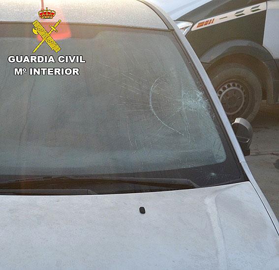Imagen del vehículo investigado.