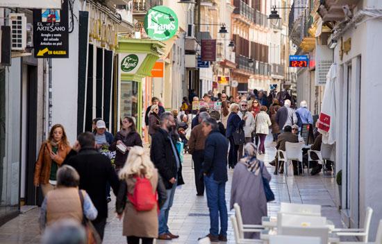 Imagen de la calle Concepción.