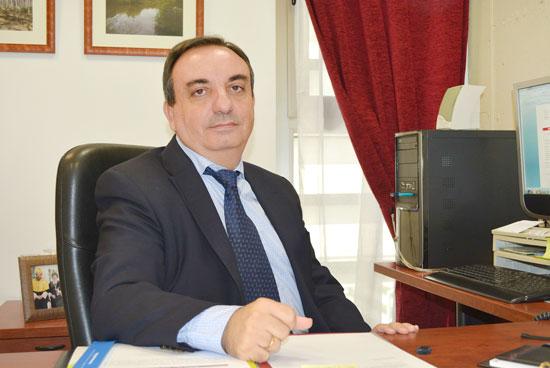 Rafael Torronteras, decano de la Facultad de Ciencias Experimentales de la Universidad de Huelva.