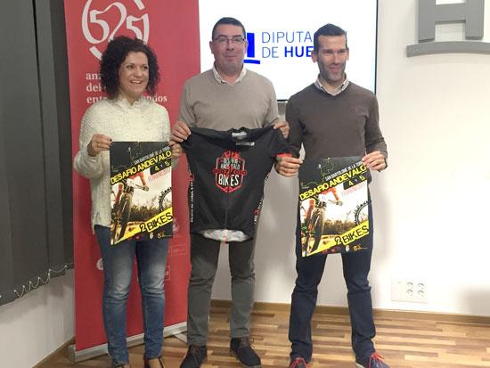 Presentación de la actividad deportiva en la Diputación de Huelva.