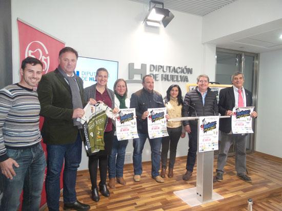 Presentación de la prueba en la Diputación de Huelva.