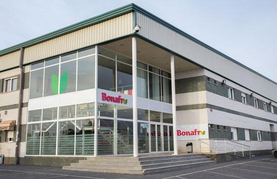 Sede de Bonafrú en Bonares.