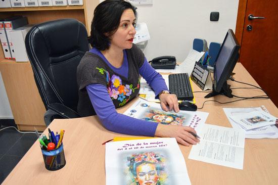 Aurora Vélez, concejala de Igualdad y diputada provincial.