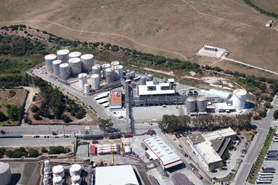 Imagen de la planta de biocombustibles de San Roque adquirida por Cepsa.