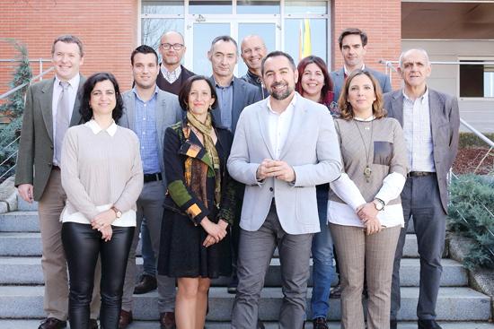 Imagen de los decanos en su encuentro en la Universidad Pablo de Olavide.