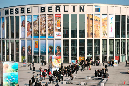 Imagen del recinto ferial Messe de Berlín.