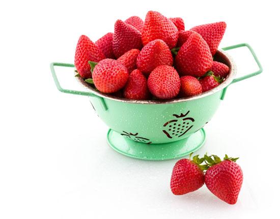 Imagen de fresas.
