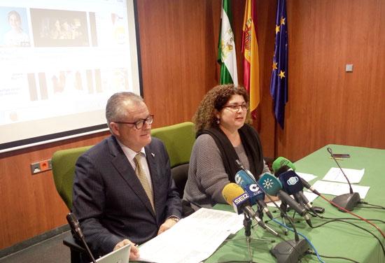 Imagen de la presentación de la campaña en Huelva.
