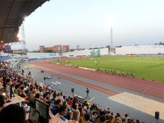 Imagen del Estadio 'Emilio Martín'.