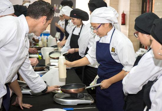 Imagen de uno de los talleres gastronómicos.