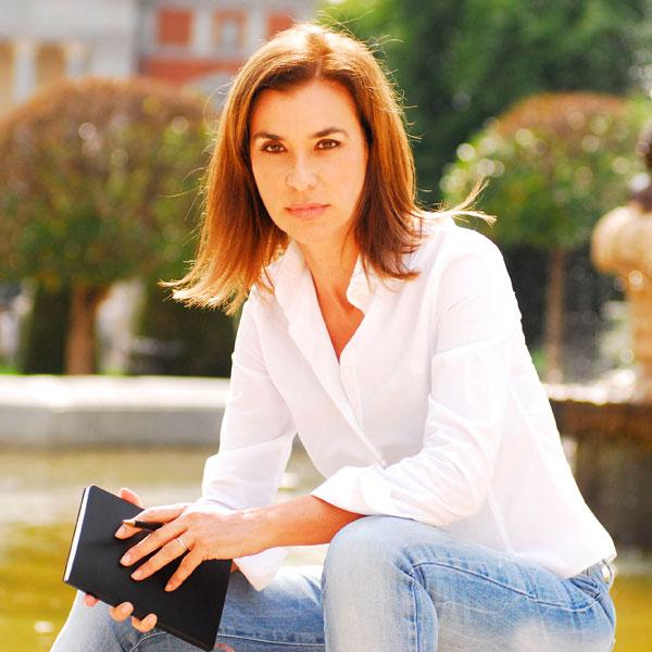 Retrato de Carmen Posadas.