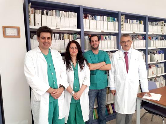En la imagen, los profesionales de la Unidad de Cirugía de Pared Abdominal de los Hospitales Juan Ramón Jiménez e Infanta Elena, organizadores del Congreso.