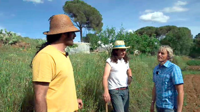 Calleja durante una visita a la provincia de Huelva.