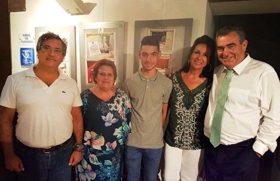 González, Grao, sobrino y hermana de José García.