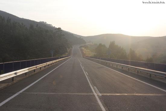 Imagen de archivo de la N-435.
