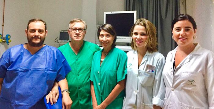 Imagen de los ginecólogos de esta unidad.