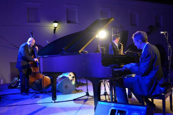 """Actuación anoche de Jeb Patton en los """"Jueves de Jazz""""."""