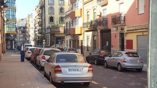 Imagen de la calle.