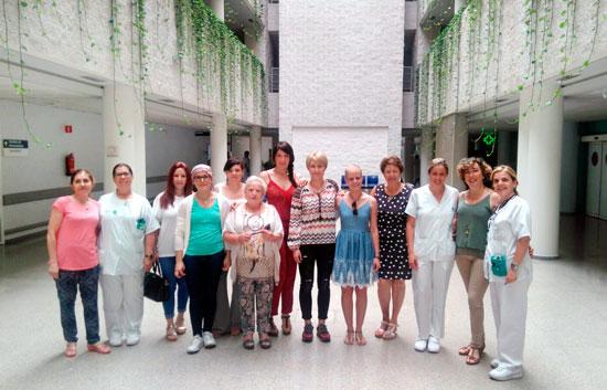 Imagen de las participantes en la Escuela de Pacientes.