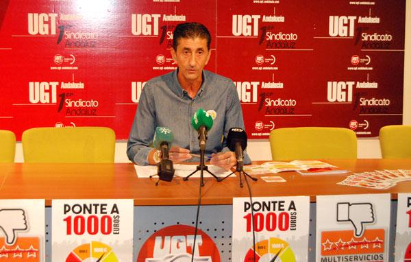 Sebastián Donaire en rueda de prensa.