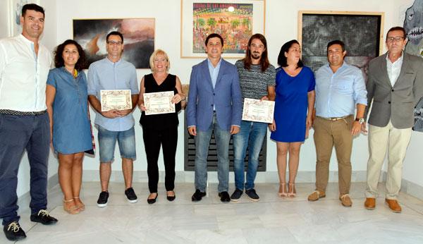 Imagen de los premiados.