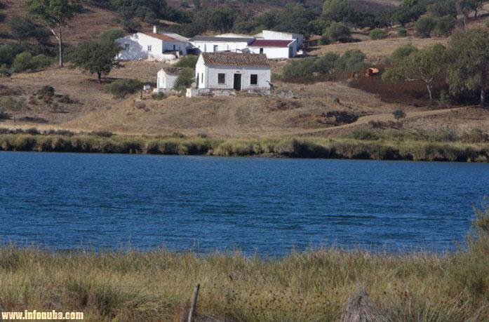Imagen de la desembocadura del Guadiana.