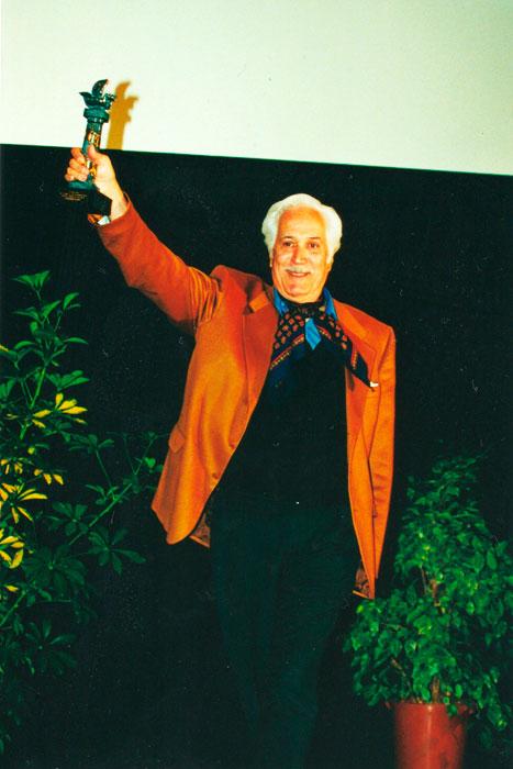 El actor Federico Luppi, en el Festival de Cine Iberoamericano de Huelva.
