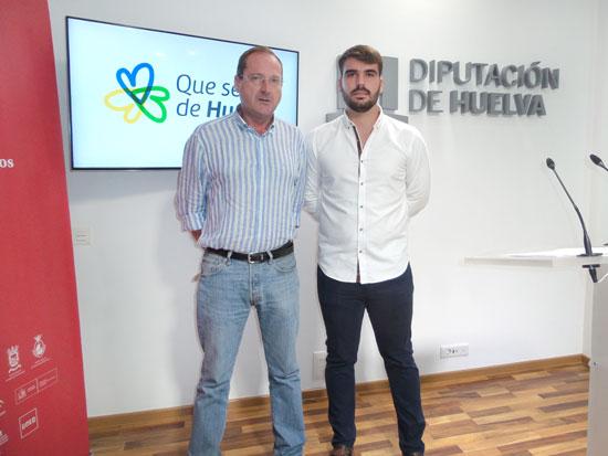 Imagen de la presentación en la Diputación de Huelva.