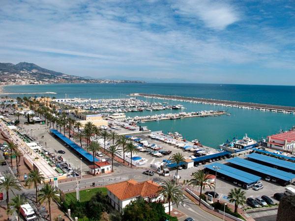 Puerto de Fuengirola en Málaga.