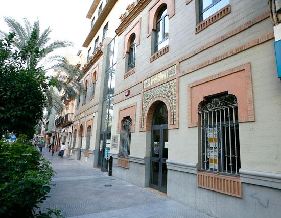 Edició de la Gota de Leche en Huelva, situado en La Merced.