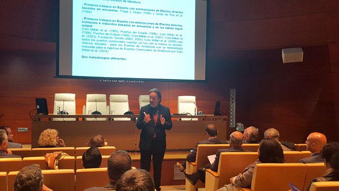 Conferencia de Pablo Coto.