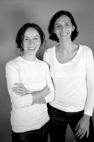 Cecilia Atán y Valeria Pivato, directoras de 'La novia del desierto'.