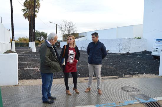 El nuevo parking público es una realidad gracias al acuerdo alcanzado por la concejalía de Urbanismo con la empresa propietaria de los terrenos.