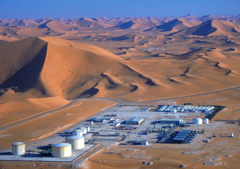 Imagen del yacimiento de Rhoude el Krouf en Argelia.