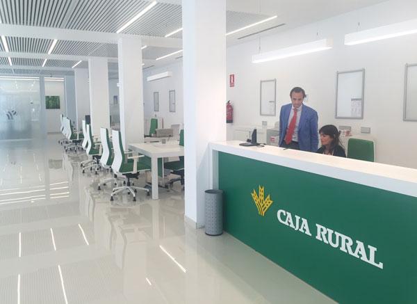 el modelo de nuevas oficinas sostenibles de caja rural del