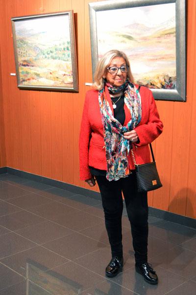 La pintora onubense Pilar Barroso.
