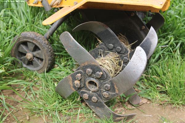 Imagen de una mula mecánica.