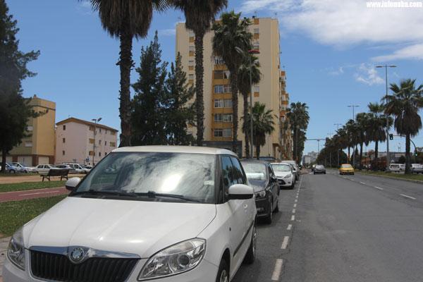 Imagen de las proximidades de la Barriada de Pérez Cubillas.