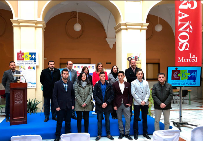 Foto de la entrega de los premios de la I Convocatoria. Curso académico 2016/2017