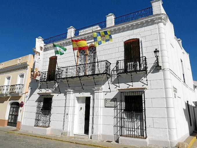 Casa Natal de Juan Ramón Jiménez situada en la calle Ribera