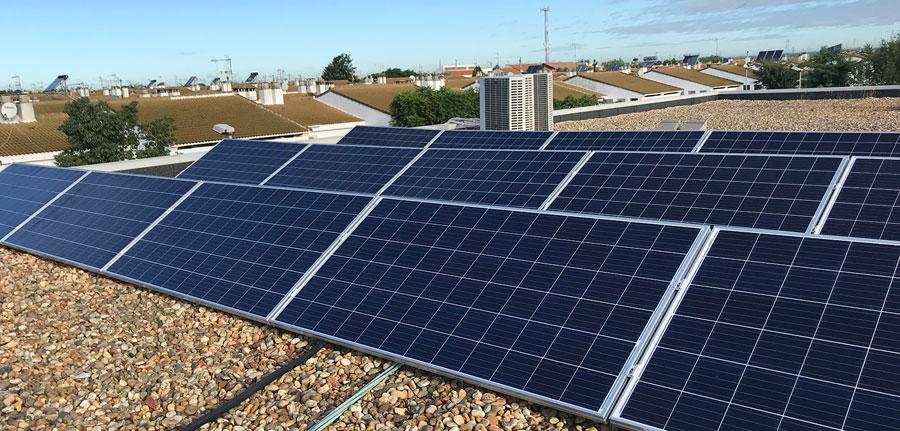 Placas solares en el Centro Deportivo Municipal sanjuanero