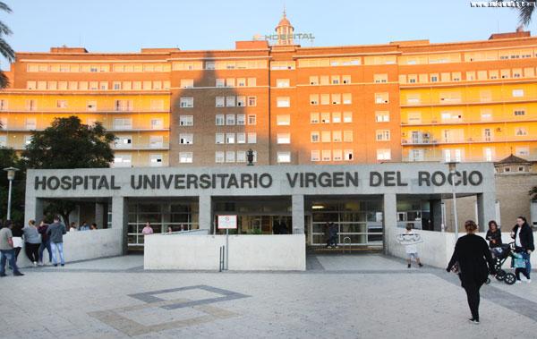 Hospital Virgen del Rocío en Sevilla.